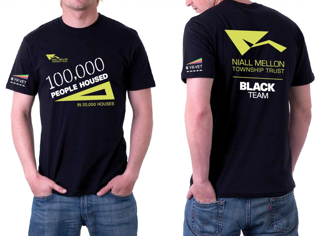 Niall Mellon– Brand Identity design. T-shirt.