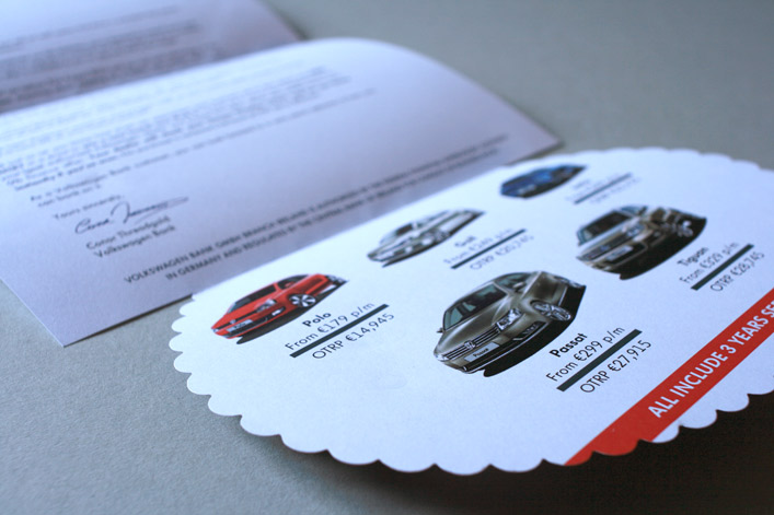 VW Bank– WHITE SHEEP OF CAR FINANCE, Direct Mail Campaign