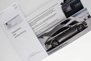Audi Ireland – Experience the extraordinary. Direct Mail Campaign.