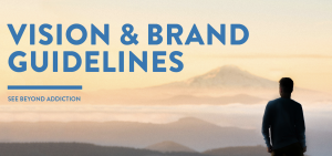 See Beyond Addiction Brand Guidelines snapshot.