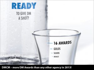 DMCM - more DM Awards than any other agency in 2013!