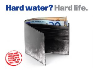 EWT hard water ad, fragment.