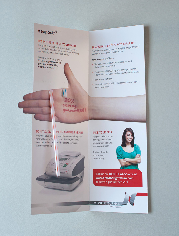 Take your pick, Direct Mail Campaign for Neopost.