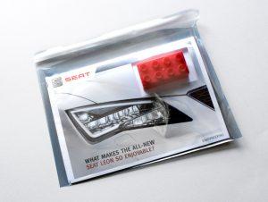 New SEAT Leon DM campaign - envelope.
