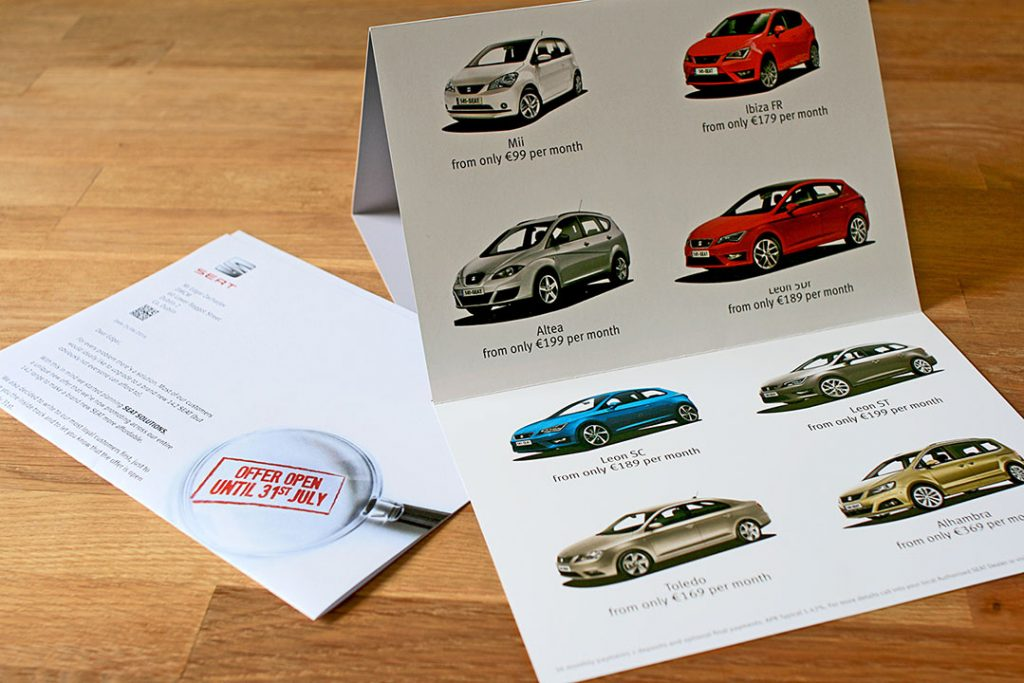 SEAT – 142 reasons Direct Mail Campaign.